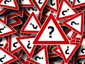 Question signs